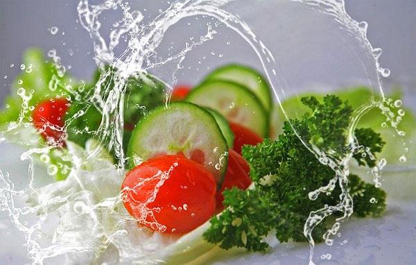 Verduras de temporada de verano